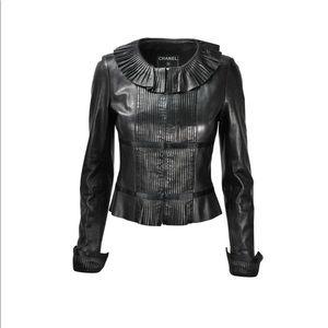 Chanel leather jacket - 40